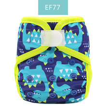 Happyflute Newborn print PUL  design snap or hook&loop cloth diaper cover BABY COVER