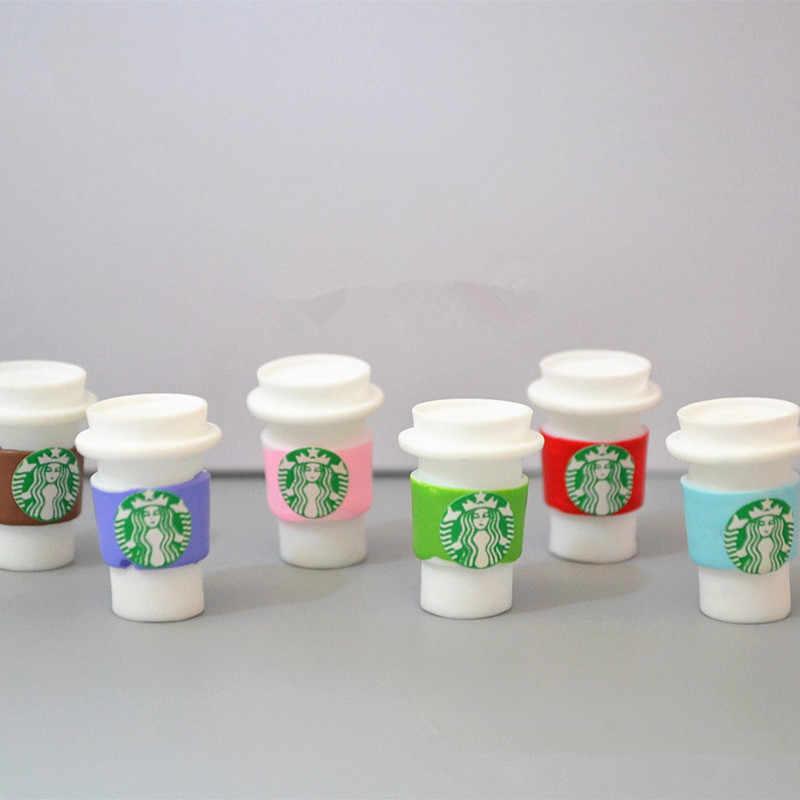 12 PCS Resina Coffee Cup para BJD Boneca Brinquedos casa de Boneca Casa de Boneca Decoração Da Casa DIY Leite Xícara de Chá