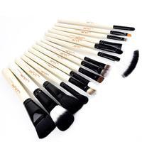 JAF 15 Pieces Face Makeup Brush Set Professional Concealer Foundation Make Up Blush Eye Shadow Powder