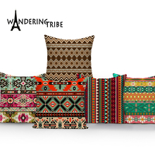 Geometric Pillow Case Cushions Decorative Comfortable Cover Cushion Pillowcase Morocco  Home Colorful Covers