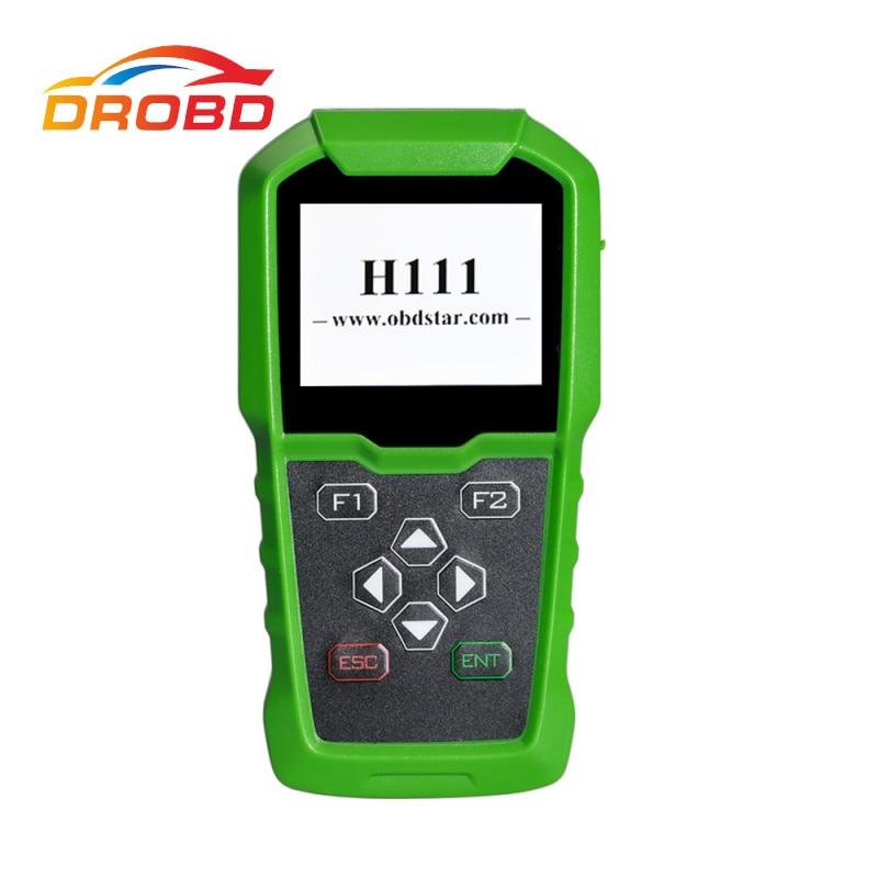 DBScar OBDSTAR H111 Für Opel Auto Schlüssel Programmierer & Cluster Kalibrierung über OBD Extrakt PIN CODE von BCM für OPEL schlüssel Programmierer