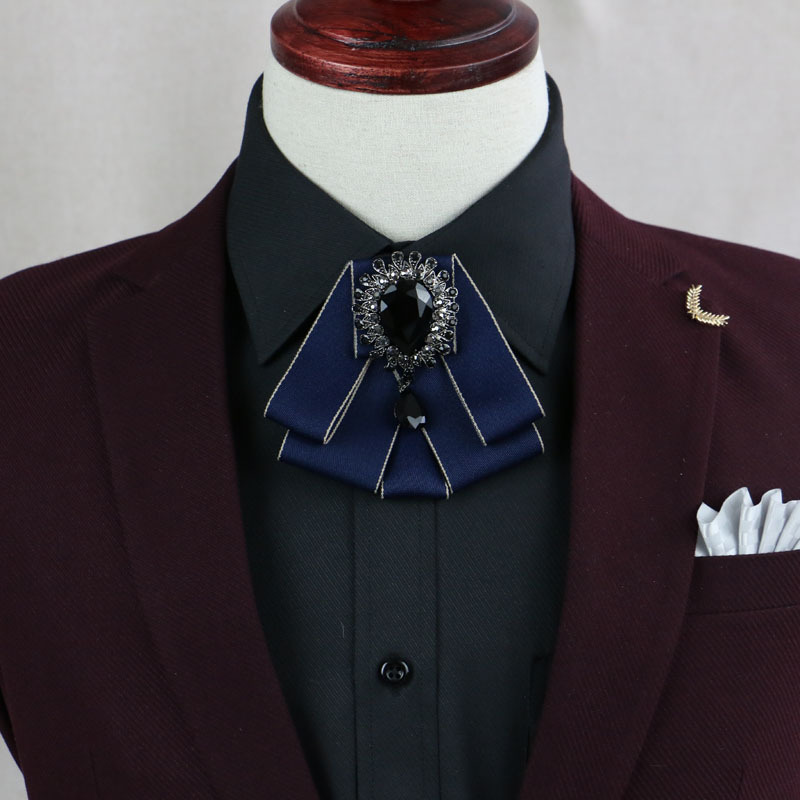 Modestil Hohe Qualität Neue Diamant Männer Fliege Mode England Verheiratet Männer Fliege