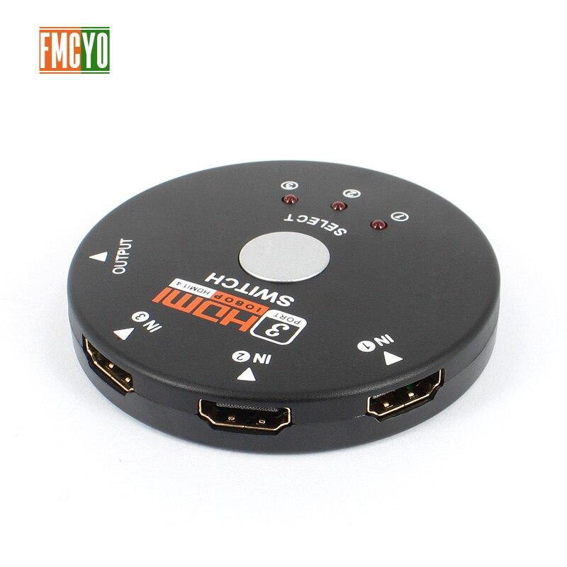 HDMI KVM Switch 4 Port 3 Input 1 Output HDMI Splitter Video Monitor Resolution HDMI Switcher