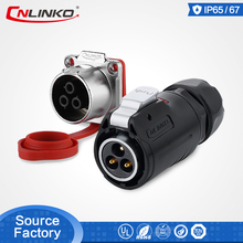 Outdoor Cable male Plug 3pin electric Circular Power Wiring Harness Connectors for Lighting 20A Current Quality Guarantee