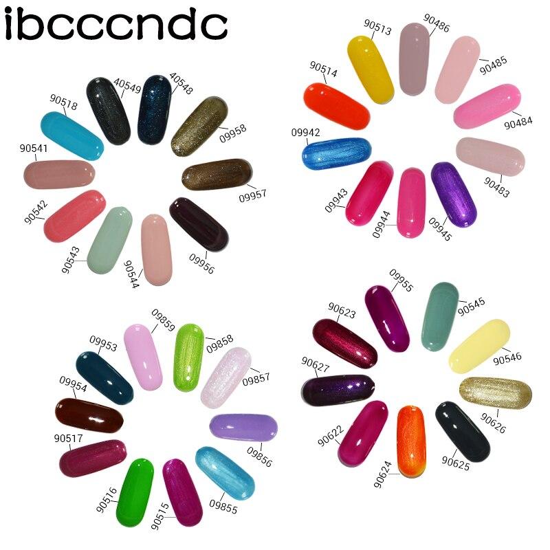 IBCCCNDC 7.3ml UV köröm gél Easy áztassa köröm gél lengyel - Köröm művészet - Fénykép 6