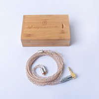 Custom Made DIY MMCX Copper Silver Mixed Hifi Music Updated Cable Cord Line for SE215 SE535 UE900 LA A4 A5 XBA H3 FX850