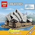 2989 unids Nueva LEPIN 17003 sydney opera house Modelo Building Blocks Set Compatible CREADOR 10234 Arquitectura legoes juguetes regalos