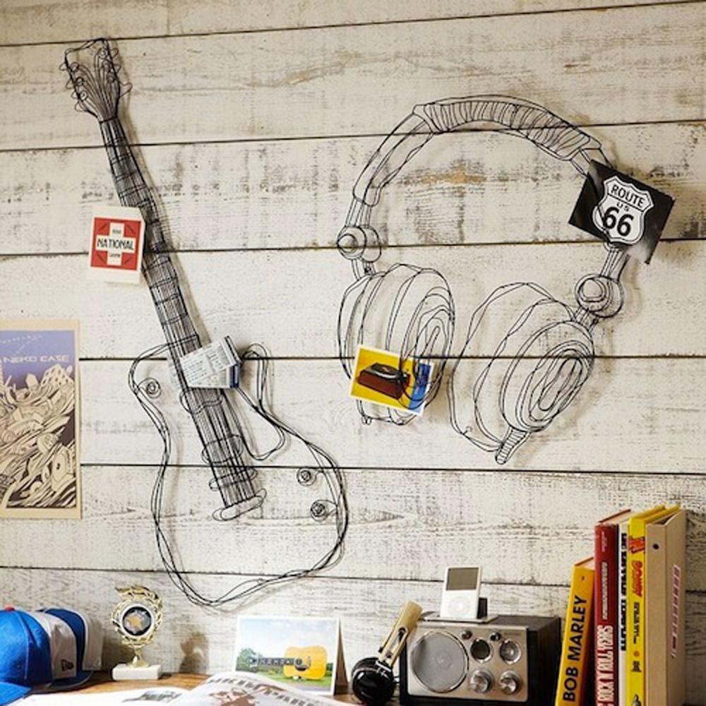 metal wiremusic decor