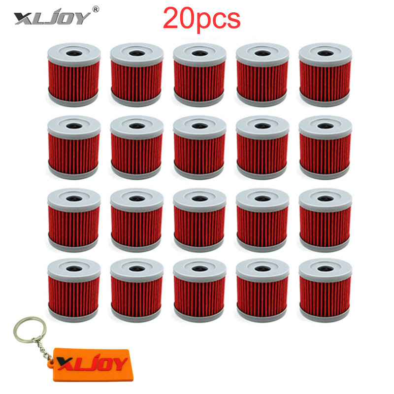 XLJOY 20x Fuel Oil Filter For SUZUKI TU125XT 125 GN125 GS125 AN150 UC125 GF125 GA125 DF9