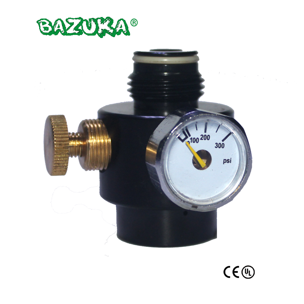 New Paintball Tank Cylinder Adjustable Regulator Output Pressure 0 300psi 0.825 14NGO Thread-in Paintball Accessories from Sports & Entertainment