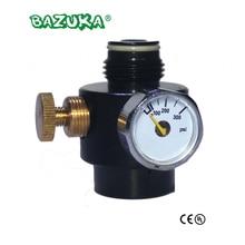 Pressão ajustável 0 300psi 0.825 14ngo da saída do regulador do cilindro do tanque do paintball novo