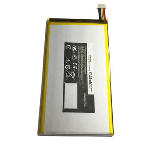 Tablet Battery-Only Venue Li-Ion-Batteries Dell for 8/3840 P708 Malecrane High-Capacity