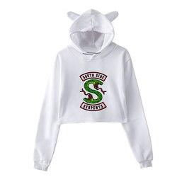 Sudaderas Mujer 2018 Riverdale Printing Sweatshirt Harajuku Fashion Hoodies Plus Size Streetwear Sudadera Mujer Hoodies Women 3