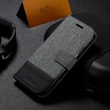luxury Leather Bracket Phone Case Flip Wallet Case