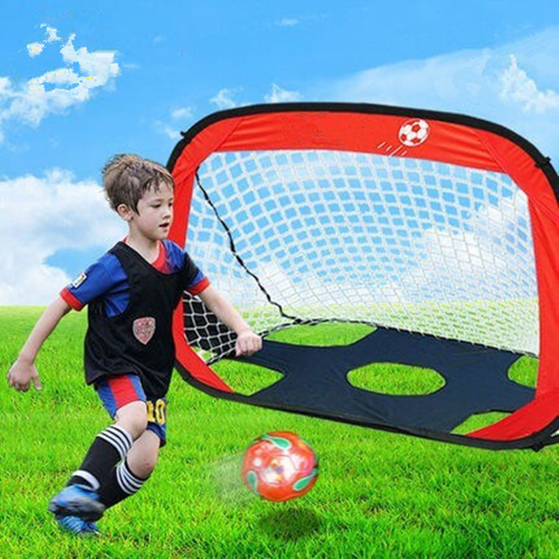 Multi-function Sports Game Kids Toys 2 IN 1 Football Gate Soccer Goal Indoor Sports Toy Outdoor Games Novelty Gifts for Children