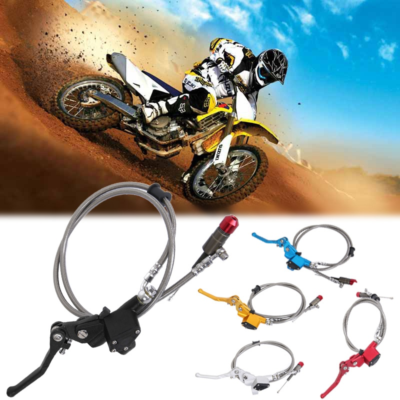 7/8 inch Motorcycle Hydraulic Clutch Lever Master Cylinder Brake Universal Dirt Pit Bike Motorcycle Folding Save Effort 1200mm