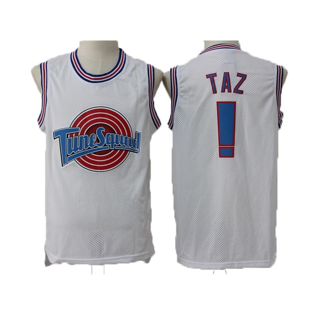 Space Jam TuneSquad Basketball Jerseys BUGS#1 DUCK#2 LOLA#10 MURRAY#22 JORDAN Jersey 23# TAZ Men Shirt цена