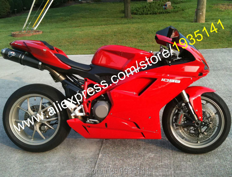 ̿̿̿(•̪ )Ventas calientes, para Ducati 848 1098 2007 2008 2009 2010 ...