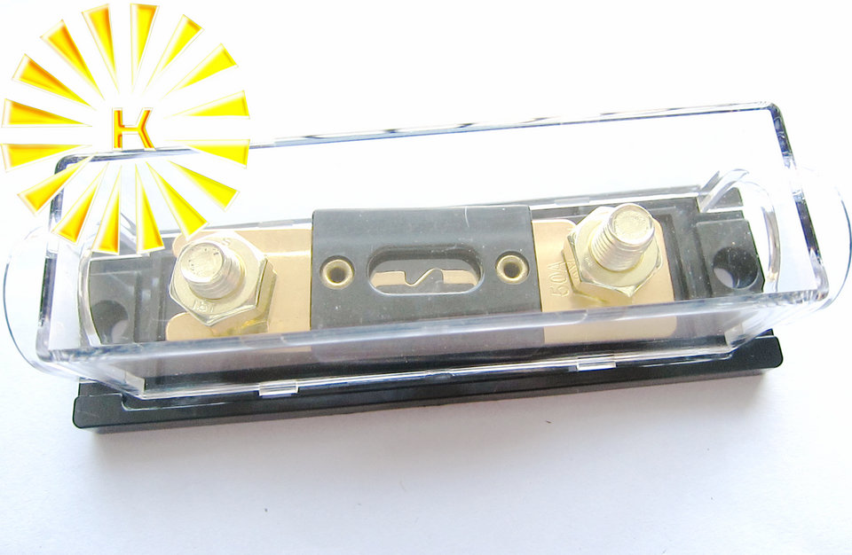 Free shipping 2pcs x ANL-H ANL-B Transparent Car Fuse Box ANL Fuse Holder