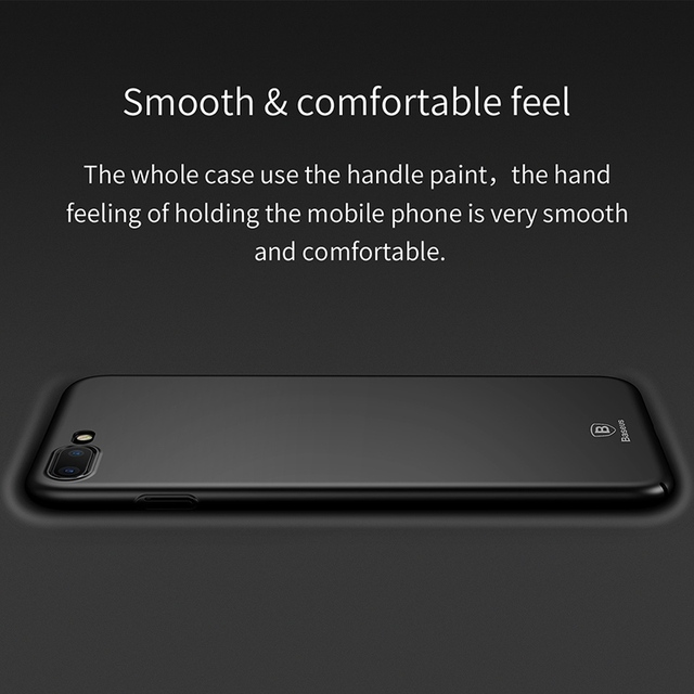Hard Ultra-Thin Smooth Plastic Case for iPhone 7 7 Plus 8 8 Plus X 6 6 Plus 6s 6s Plus (PC iPhone Case) by Baseus 5