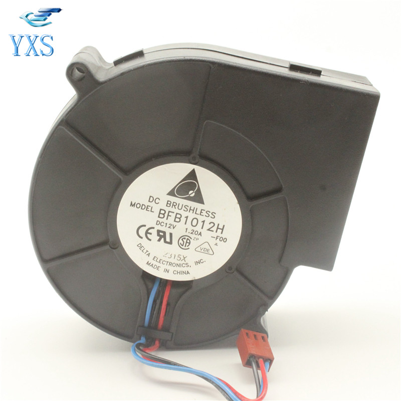BFB1012H-F00 BBQ Grill Dedicated Extractor Fan Air Blower BFB1012H 9733 97*94*33mm DC 12V 1.20A 9.6W