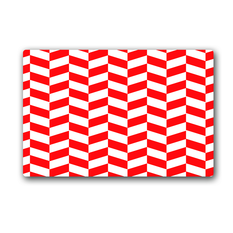 Chevron Kitchen Rug: Red Chevron PatternPSlip Resistant Kitchen Rugs Home