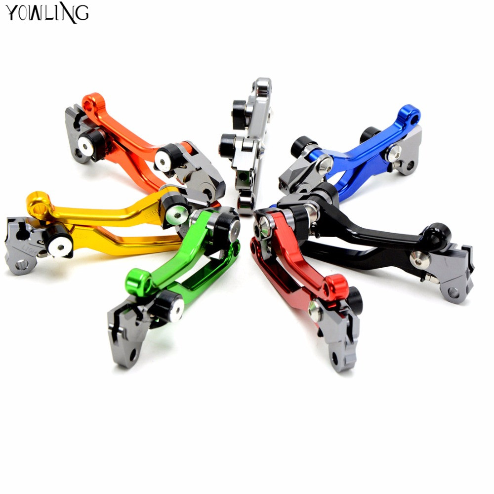 motorcycle brake For HONDA XR 250/400 MOTARD 1995-2005, CRM 250AR 1994-1998 Motocross dirt bike CNC Pivot Brake Clutch Levers