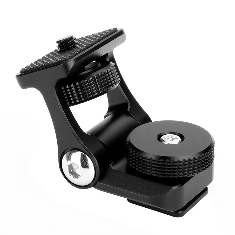 Ulanzi-U-40-Monitor-Mount-Bracket-Holder-Dual-Moveable-Arms-180-Degree-Rotation-Cold-Shoe-Mount