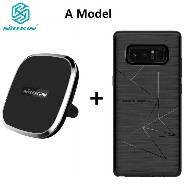 best loved 6d3db 32c87 US $33.89 |For Samsung Galaxy Note 8 NILLKIN Qi Wireless Charger Pad with  Magnetic Wireless Charger Receiver Cover Case For Samsung S8 S8+-in  Wireless ...