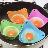 أدوات طهي البيض من السيليكون سهلة الاستخدام لأغراض الطبخ في المطبخ