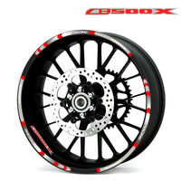 Hot sell Motorcycle Rim Wheel Decal Accessory Reflective waterproof Sticker for Honda CB500F CB500X