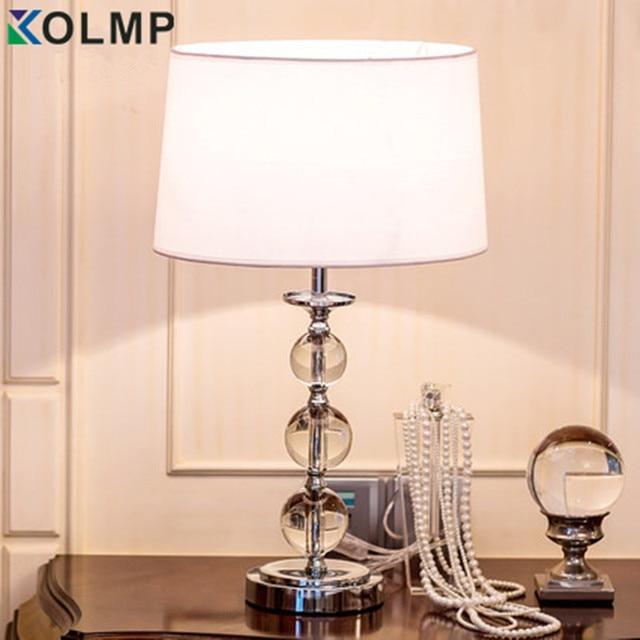 Cristallo di modo lampade da tavolo per la camera da letto lampada da tavolo di cristallo di - Lampade per camera da letto ...