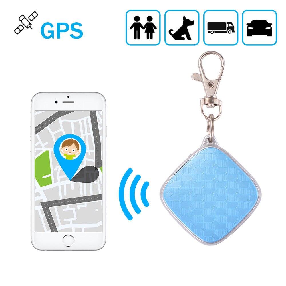 MiNi voiture personnelle Pet GPS localisateur Tracker porte-clés GSM Rastreador dispositif de suivi pour enfants aînés animaux de compagnie en temps réel alarme APP piste