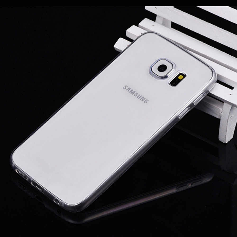Nephy Case Voor Samsung Galaxy S3 S4 S5 Neo S6 S7 rand S8 Plus S 3 4 5 6 7 8 mini Duos Cover TPU Silicon Behuizing Behuizing