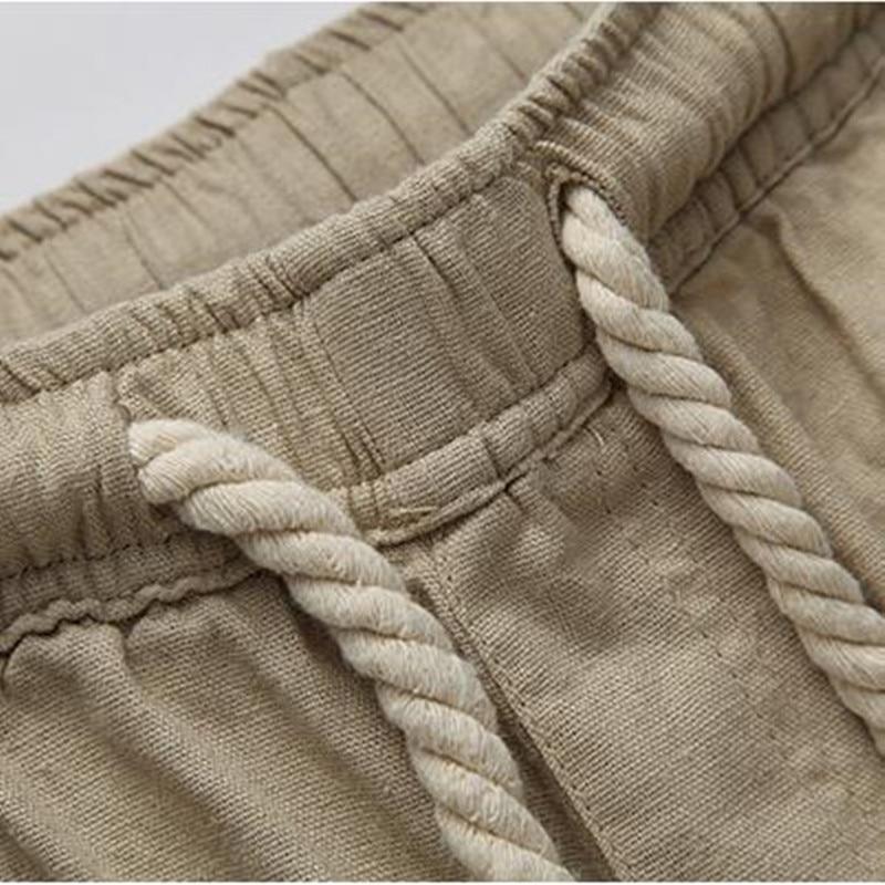 LEFT ROM νέα Μοντέρνο ανδρικό παντελόνι - Ανδρικός ρουχισμός - Φωτογραφία 6