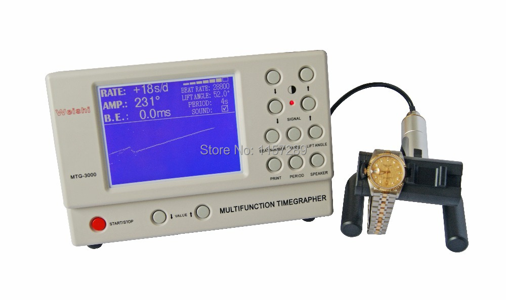 Watch Timing Machine Multifunction Timegrapher NO 3000 for rolex watch repairers watch hobbyists