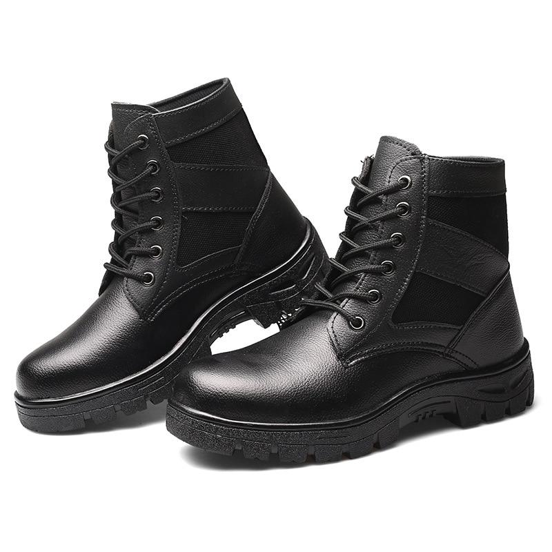 Frío Seguridad Protección Del Hombres Más Baotou Calzado De Prueba Terciopelo Calientes Trabajo Zapatos Invierno A Acero El Los ZBqgprZWP