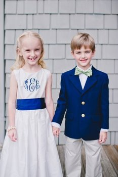 2017 New Arrival Boy Suits Blazer With Pants Handsome Cute Kids Wedding Party Tuxedos Dark Blue Jacket (Jacket+Pants+Bow Tie )