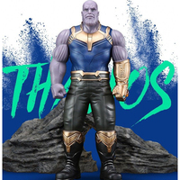 Action Figures Avengers 3rd Infinity War Action 33cm Thanos PVC Model Marvel Super Heroes Toys Figure Collectable Gift #E