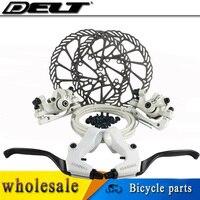 Wit fiets brake Mechanische schijfremmen rotors Schroef 160mm rotor voor Fiets remblokken AVID Elixir E1 SRAM xo xx