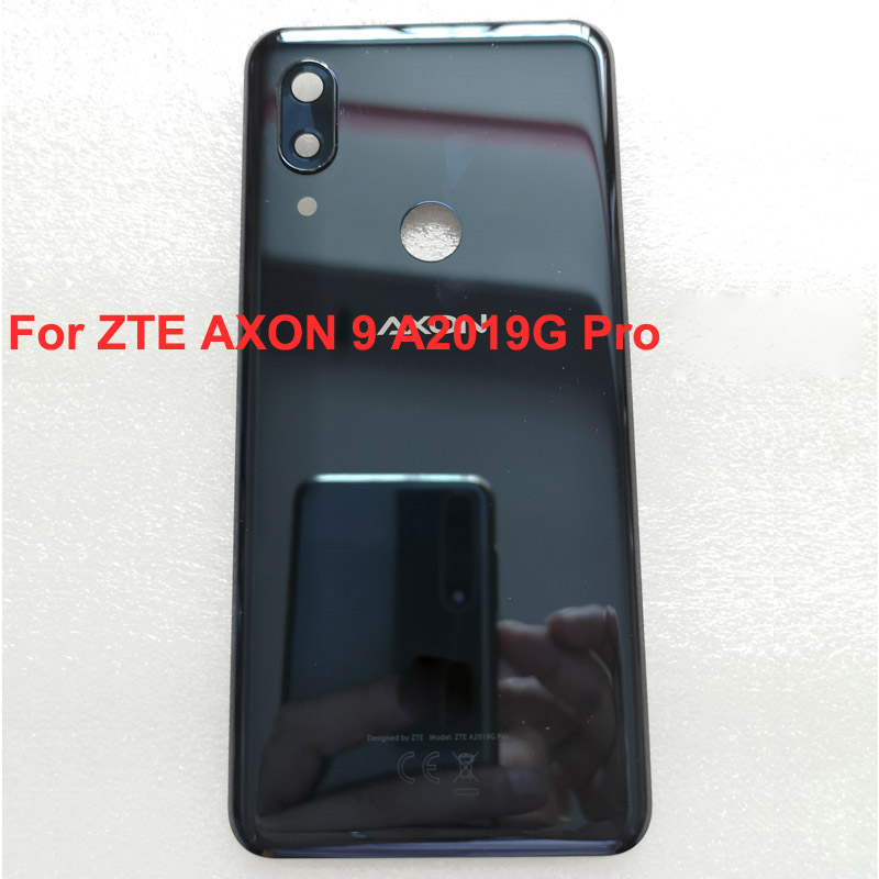 For ZTE Axon 9 Pro A2019 Full Battery Cover Back Cover Door Housing Case with camera glass For ZTE Axon9 Pro A2019g Cases