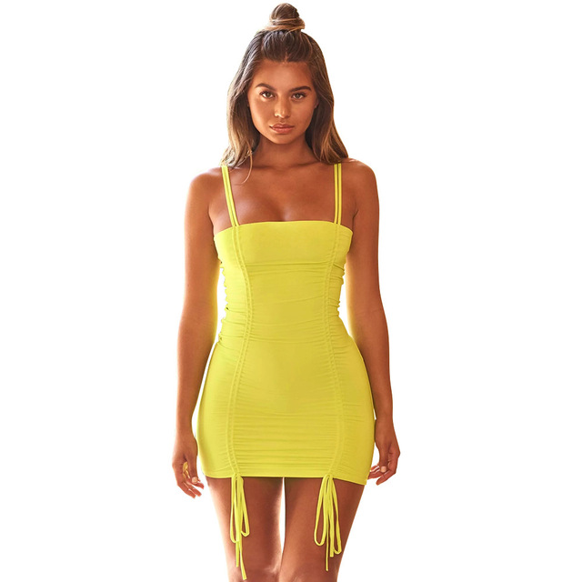 Women Sexy Off Shoulder Sleeveless Solid