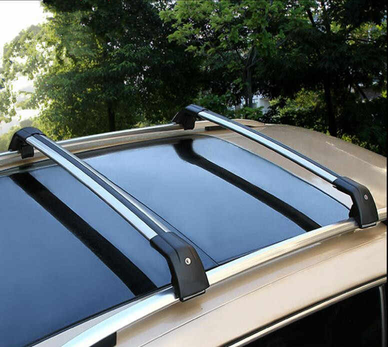 Багажник на крышу автомобиля поперечные Рейлинги на крышу стойки бар погрузка на автомобиль грузовой багаж Перевозчик багаж для Kia Sorento 2015 2016 2017 2018