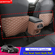QCBXYYXH Car-styling Interior Seat Protector Side Edge Protection Pad Car Stickers Anti-kick Mat For Toyota 8th Camry 2017 2018