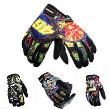 2016 Brand Print MOTO racing luvas Motorcycle gloves Motocross protective Gears gloves/off-road gloves Outdoors Ride Gloves M-XL