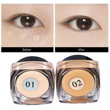 Mini Makeup C oncealer Perfect Covering Pore Black Circle Oil Control Waterproof Facial Primer Cosmetics