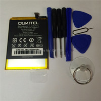100 Original Battery OUKITEL U20 Plus Battery 3300mAh 5 5inch MTK6737T Disassemble Tool High Capacit