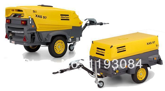 Mobile Air Compressor >> Atlas Copco Xas97 Portable Air Compressor Portable Air Compressor
