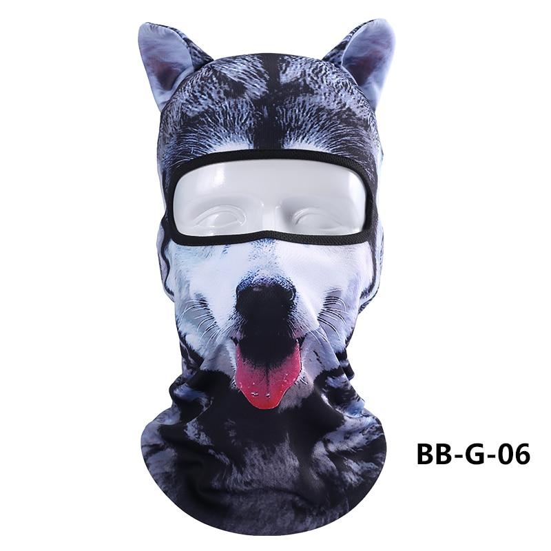 2017 Cute Winter Ski Mask Balaclava  beanie Women Hat 3D Animal Masks Outdoor Sunscreen Headgear Windbreak Cycling Cap
