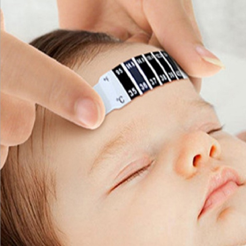 20pcs Baby Thermometer Reusable Flexible Toddler Forehead Care Health diagnostic-tool Monitors